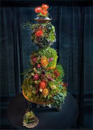 the makings of a woodland wedding cake u2014 lusher life studio