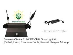 315w cmh grow light grower s choice horticultural lighting 315w cmh ceramic metal halide