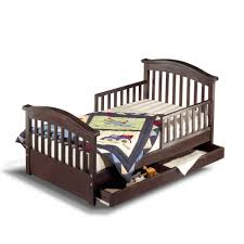 Kids Beds With Storage Boys Kids Beds Wayfair Joel Pine Convertible Toddler Bed With Storage