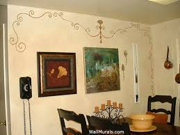 Kitchen Wall Mural Ideas Kitchen Wall Murals Hand Painted Kitchen Murals And Borders