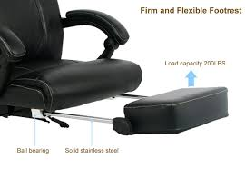 amazon com viva office high back bonded leather recliner office