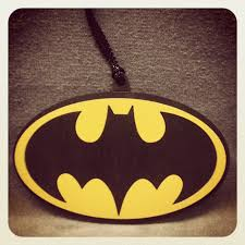 batman ornament by woodwearbyandrea on zibbet