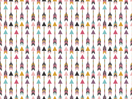 bohemian arrows wallpaper bohemiangypsyjane spoonflower