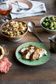 thanksgiving cooking for two basted turkey and olive pecan