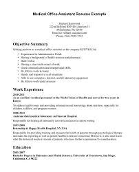 resume for internship exle best objective for resume internship summer accounting