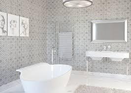 waterjet white gray mosaic tile ideas marble waterjet tiles