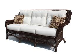 Rattan Settee Wicker Sofas A Wicker Sofa Selection For Your Patio Furniture