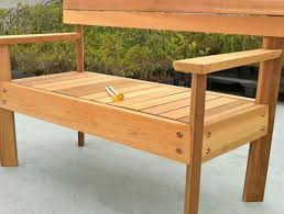 Free Wood Picnic Bench Plans by Table Picnic Table Bench With Back Plans Wonderful Picnic Table
