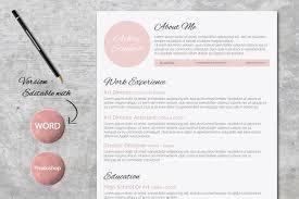 beautiful resumes beautiful resume design resume templates creative market