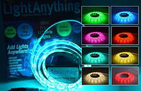 multi colored flat led light kit light anything