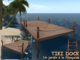 Tiki Outdoor Furniture by Second Life Marketplace Outdoor Tiki Dock Outdoor Lader