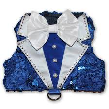 hanukkah vest royal blue tuxedo dog harness vest hanukkah dog clothes