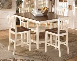 Ashley Outdoor Furniture Signature Design By Ashley Whitesburg Brown Cottage White Square