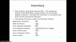 hospitality accounting chapter 5 youtube