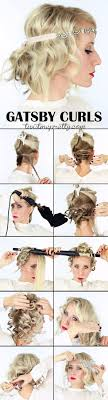 hairstyles inspired by the great gatsby she said united the great gatsby inspired hairstyle tutorial hairstyles videos