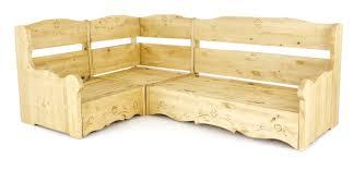 canapé en pin canapé d angle coffre rustique taupe edelweiss grenier alpin