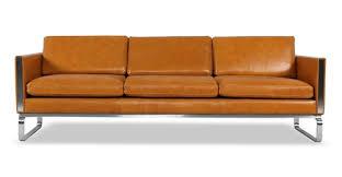 Modern Leather Sofa Mid Century Modern Leather Sofas Loft Modern Leather