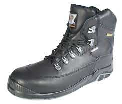 jallatte jalcrusader s3 black gore tex lace up mens safety boots