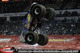 monster truck jam charlotte nc monster jam photos charlotte nc january 21 2012 2pm show