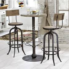 Retro Bar Table American Country To Do The Retro Rust Iron Bar Chairs Bar