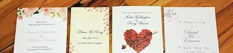 Wedding Booklets Booklets U0026 Scrolls Amore Ie