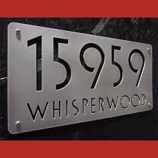 address home decor decorative modern house numbers home decor inside address plaques