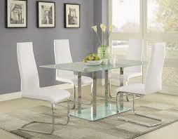 Modern Glass Dining Room Table Best 25 Glass Dining Table Set Ideas Only On Pinterest Glass