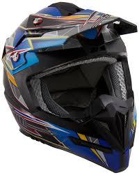 vega motocross helmets amazon com stealth flyte speed graphic off road helmet blue
