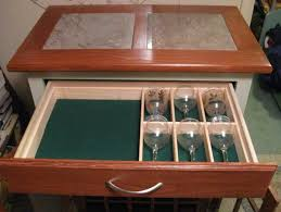 Wine Glass Storage Cabinet by Tile Topped Wine Cabinet Woodworking Blog Videos Plans