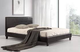 black leather look queen bed 6 products graysonline