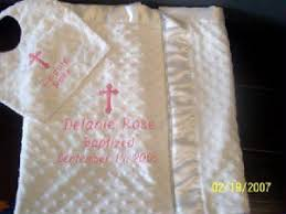 christening blankets personalized christening baptism