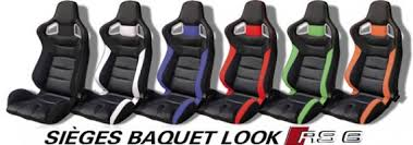 sieges baquet siege baquet rs6 vw aurel89 photos caradisiac com