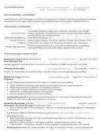Sample Dba Resume by Seattle Web Design Seattle Logo Designa Resume Sok Design