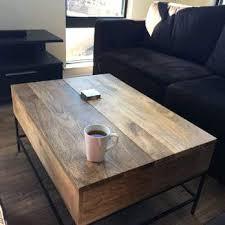Rustic Storage Coffee Table West Elm Coffee Table Storage West Elm Rustic Storage Coffee Table