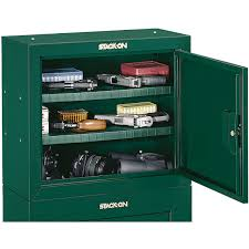stack on ammo cabinet stack on security cabinet for ammunition green