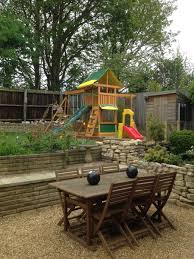 brightside climbing frame swing set with slide and monkey bars