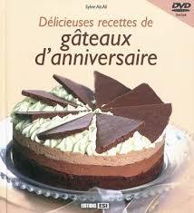 dvd recettes de cuisine livre delicieuses recettes de gateaux d anniversaire dvd inclus