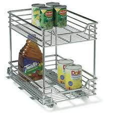 baskets pull out chrome wire or wicker storage baskets for base