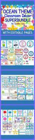 Pinterest Classroom Decor by Best 25 Ocean Themed Classroom Ideas On Pinterest Sea Bulletin