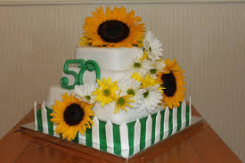 sunflower garden fondant birthday cake penny u0027s food blog