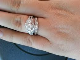 country engagement rings country gals show your rings weddingbee