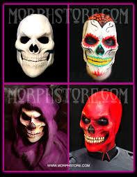 red skull sugar skull skeletor face foam latex pieces special
