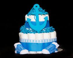 baby boy diaper cake etsy
