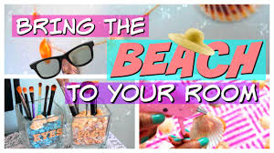 Beach Themed Home Decor diy summer room decor 2016 beach themed youtube