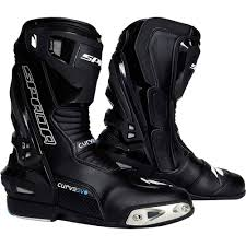 blue motorbike boots spada curve evo wp motorcycle boots spada amazon co uk sports