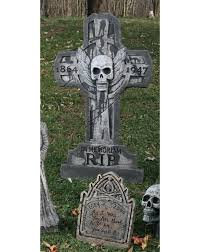 Outdoor Halloween Tombstone Decorations by 36