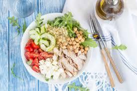 assiette de cuisine assiette crétoise au poulet cuisine addict de cuisine