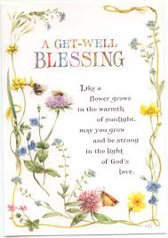 a get well blessing greeting card get well wells and greeting card