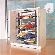 Cool Garage Storage Furniture Cool Garage Shoe Storage With Rotating Metal Racks