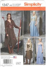 Daenerys Targaryen Costume Game Of Thrones Costume Patterns Patternvault
